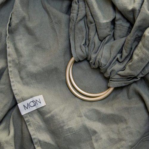 draagzak-baby-ring-sling-groen-moon-sling