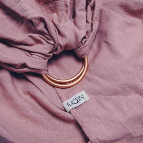 draagdoek-moon-ring-sling-pink