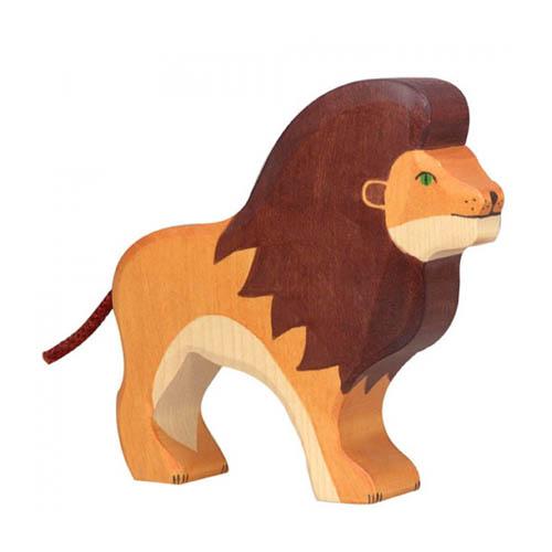 Holztiger-leeuw
