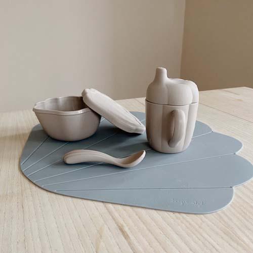 Konges-slojd-siliconen-mossel-set-warm-grey
