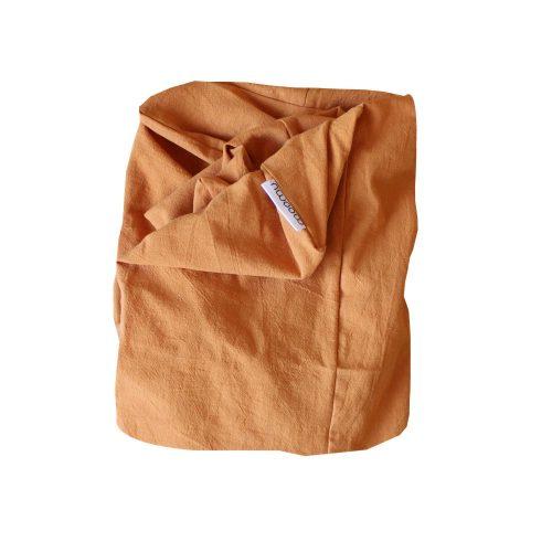 Moomu-hoes-aankleedkussen-orange-terracotta