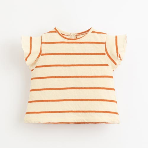 Play-up-striped-jersey-t-shirt-Anise