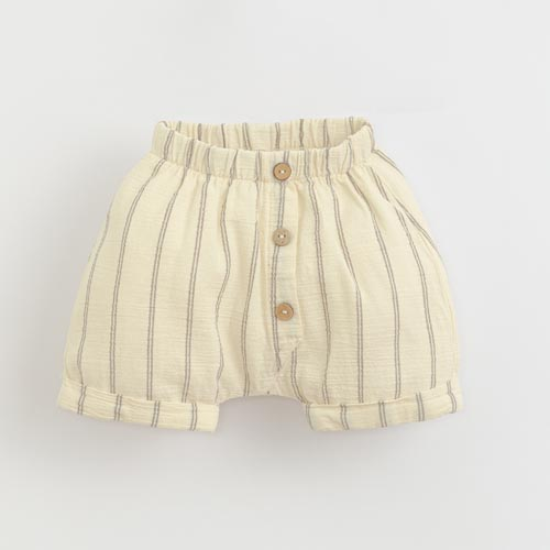 Play-up-striped-woven-shorts-Dandelion