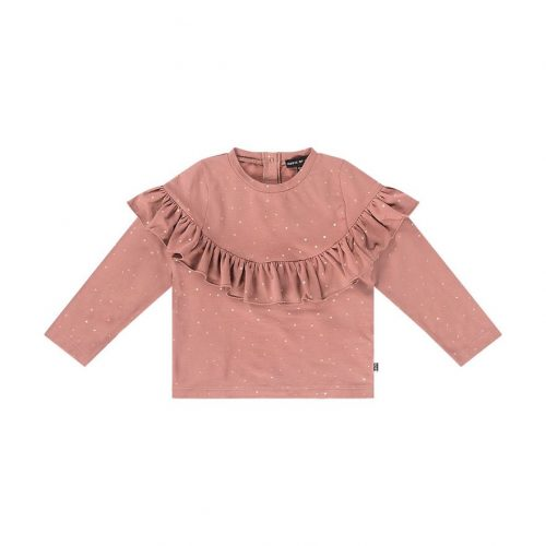 house-of-jamie-volant-sweater-dusty-mauve-golden-dots