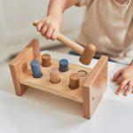 jollein-houten-hamerbank-blauw