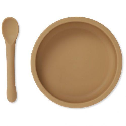 konges-slojd-siliconen-bord-lepel-almond