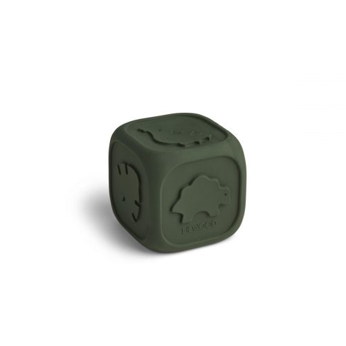 liewood-siliconen-dobbelsteen-hunter-green