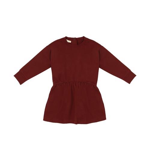 phil-phae-oversized-dress-summer-sweat-Deepest-brick