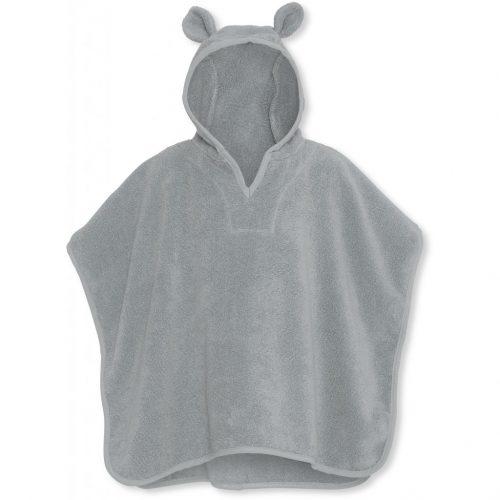 poncho-konges-slojd-teddy-storm-grey