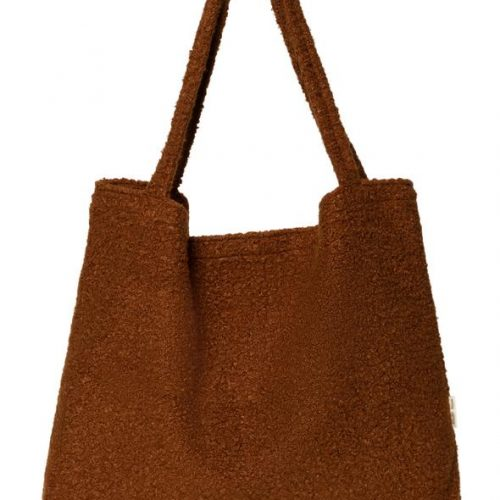 studio-noos-cacao-boucle-mom-bag