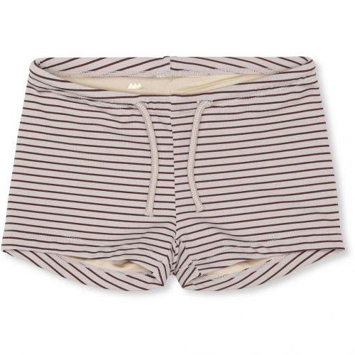 zwemshorts-konges-slojd-striped-bordeaux